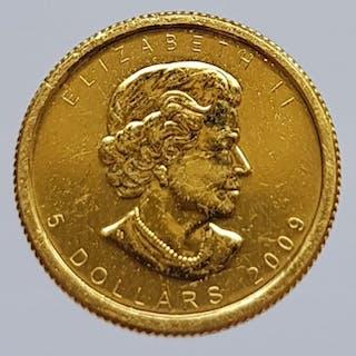 Canada - 5 Dollar 2009 Elizabeth II - Gold