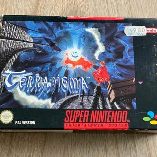 Nintendo SNES - TERRANIGMA RPG (1) - In original box
