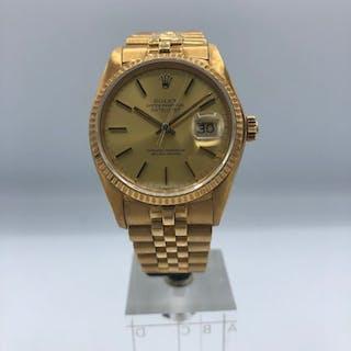 Rolex - Rolex Datejust 36mm de Oro - 16018 - Men - 1970-1979