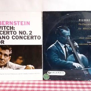 Brahms Fournier Francescatti - Diverse Künstler - Diverse Titel - LP Album