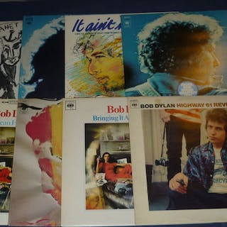 Bob Dylan - 8 Records incl