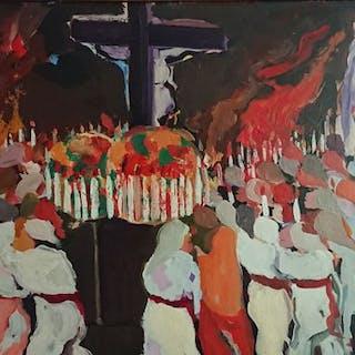 Saverio Terruso - Processione a Monreale