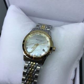 Gucci -G-Timeless Mother Of Pearl Diamond- YA126513 - Damen - 2011-heute