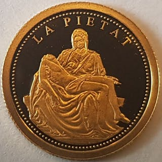 Andorra - 2 Dinar 2008 'La Pietat - Michelangelo'- Gold