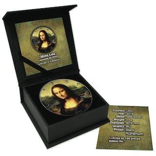USA - 1 Dollar 2019 American Eagle Leonardo da Vinci...