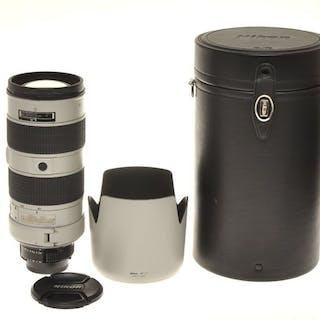 Nikon zoom 80-200mm F:2.8 Nikkor D IF-ED AF-S Silver Gray