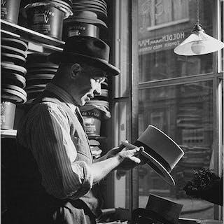 Kees Scherer (1920-1993) - Hatter, Amsterdam, 1959