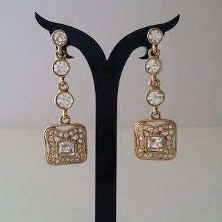Givenchy Pendientes colgantes de cristal Swarovski