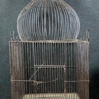 Cage a oiseaux Napoléon III - Fer (fonte) - XIXe siècle