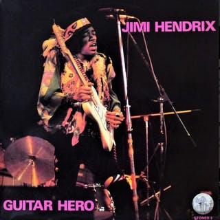 Jimi Hendrix - Guitar Hero The Unreleased Album - LP Album - 1977
