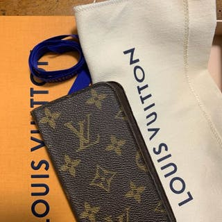 Louis Vuitton - IPhone 7/8Cover Monogram folio con...