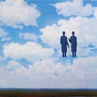 René Magritte (after) - La Reconnaissance Infinie (The Infinite Recognition)