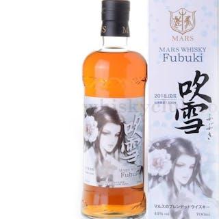 Mars Fubuki 2018 Japanese Whisky Limited Edition 1500 bottles only! - 700 ml