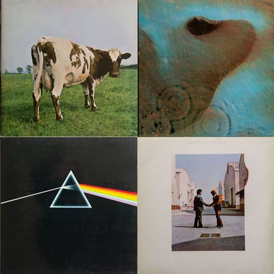 Pink Floyd - Atom Heart Mother/Meddle/ Dark Side Of The...
