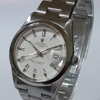 Rolex - Oyster Perpetual Date - 15000 Roman Dial Mint - Men - 1980-1989