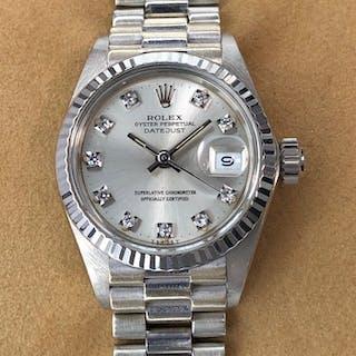Rolex - Datejust Lady Diamond Dial - 6917 - Women - 1970-1979