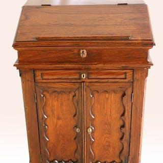 Biedermeier writing cabinet - Oak - Ca. 1850