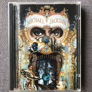 Michael Jackson - Dangerous Mini Disc Album (rare)...