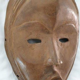 Masque - Bronze africain - Dan - Côte d'Ivoire