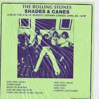 Rolling Stones - Shades & Canes 1LP - LP album - 1979/1979