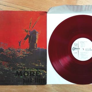 """Pink Floyd - Soundtrack From the Film """"More"""" - LP Album - 1970"""