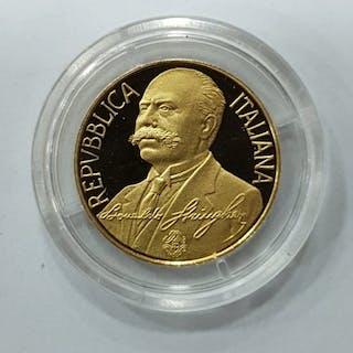 Italia, Italia - Repubblica Italiana - 50.000 Lire 1993 - Oro