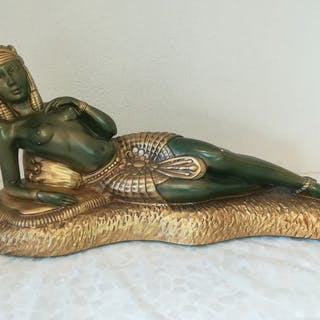 Pacini - Art Casting N ° 517 - Das ägyptische Liegerad...