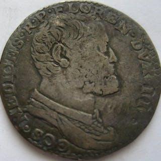 Italy - Granduchy of Tuscany - Testone Cosimo I de'...