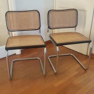 Marcel Breuer - Gavina - Knoll - Couple of chairs mod. Cesca