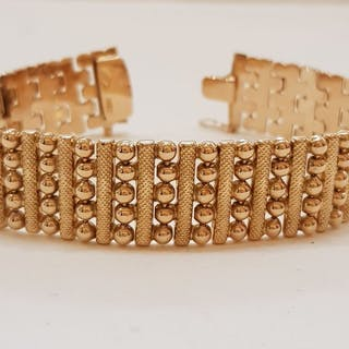 18 kt. Pink gold - 50 years bracelet, excellent condition