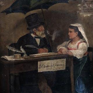 Artista sconosciuto (firmato Ragorina) - Il Traduttore