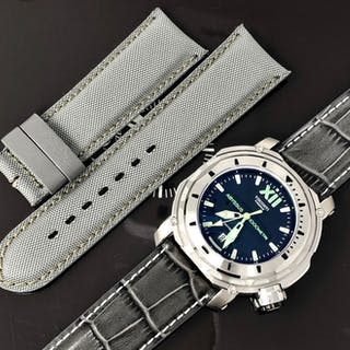 Visconti - Abyssus Full Dive 1000 Inox with EXTRA Strap - KW51-01 - Men - NEW