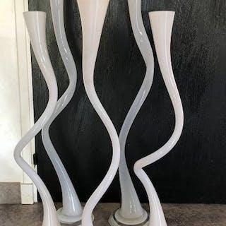 Vase (5) - Verre soufflé