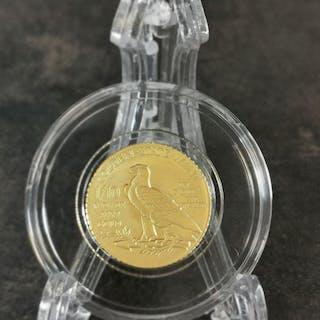 United States - 5 Dollars (restrike) Indian Head - 1/10 oz - Gold