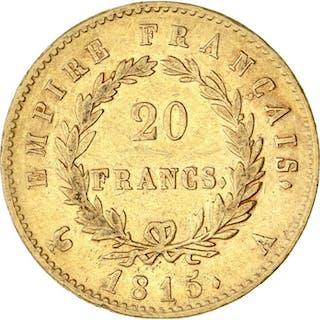 France - 20 Francs 1815-A Napoléon I - Gold