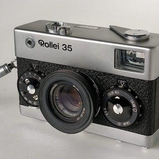 Rollei 35 + Carl Zeiss Tessar 1:3,5 40mm