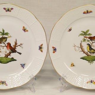 Herend - Piatti piani - Rothschild bird - 1.a scelta (2) - Porcellana