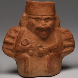 Figure - Fanged Bat - Moche culture - Peru
