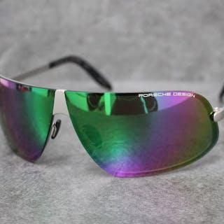 Porsche Design Eyewear - braun schwarz - Titanium - P8564-A Sonnenbrillen