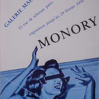 Jacques Monory - Opéras glacés - 1976