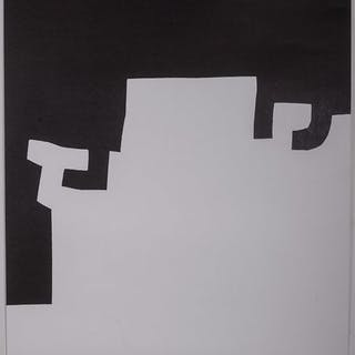 Eduardo Chillida- Abstraction - 1973
