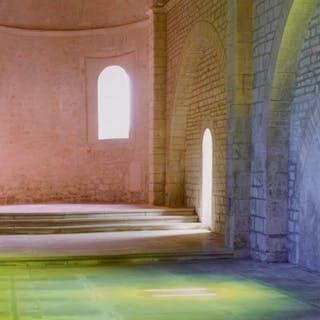 Ann-Veronica Janssens (1956-)- Chapelle Saint Vincent - Grignan