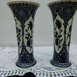 Boch Frères - Vasen (2) - Keramik