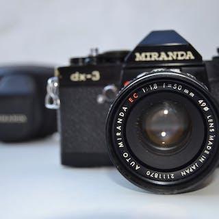Miranda DX-3 + 50mm F1.8