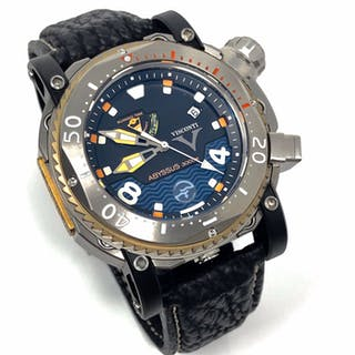 Visconti - Abyssus Pro Dive 3000M INOX Diver Watch EXTRA...