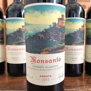 2017 Castello di Monsanto Chianti Classico - Toskana - 6 Flaschen (0,75 l)