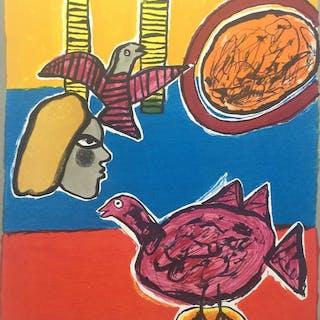 Corneille - Un bel été, l'oiseau mauve