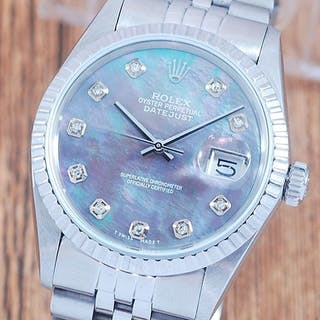Rolex - Oyster Perpetual Datejust- 16030 - Men - 1980-1989