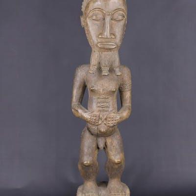Statue d'ancêtre - Bois - Baoulé - Côte d'Ivoire