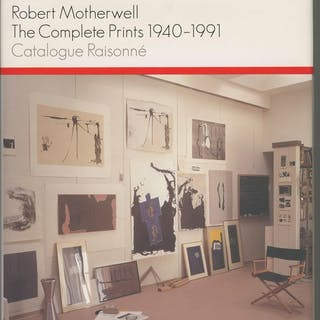 Robert Motherwell / S.Einberg & J.Banach - The complete prints 1940-1991- 2003